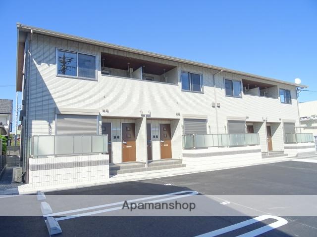 静岡県浜松市中区、浜松駅バス25分小豆餅南下車後徒歩5分の新築 2階建の賃貸アパート