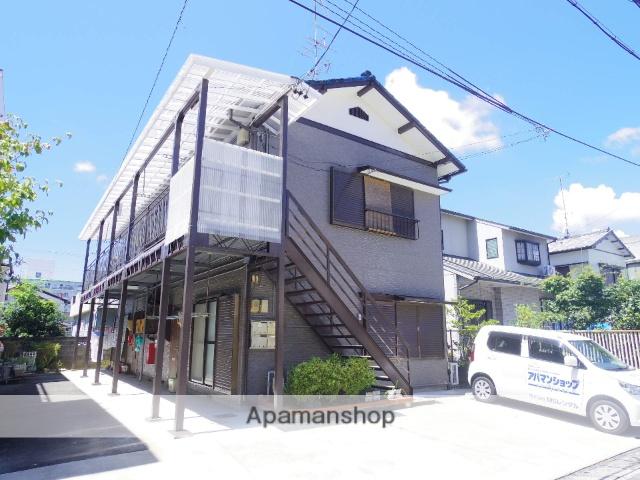 静岡県浜松市中区、浜松駅バス20分浜松学院高校下車後徒歩4分の築47年 2階建の賃貸アパート
