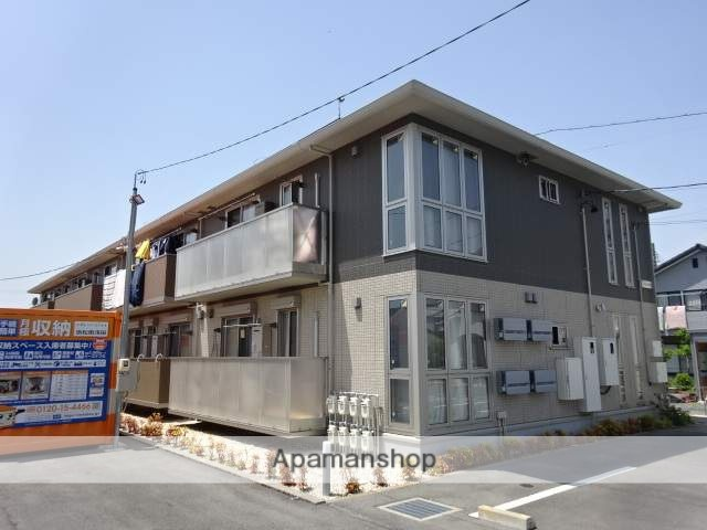 静岡県浜松市中区、浜松駅遠鉄バスバス16分江西中学校東下車後徒歩4分の新築 2階建の賃貸アパート