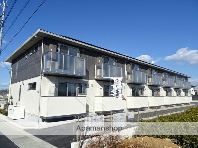 静岡県浜松市北区、浜松駅遠鉄バスバス36分三方原下車後徒歩3分の新築 2階建の賃貸アパート