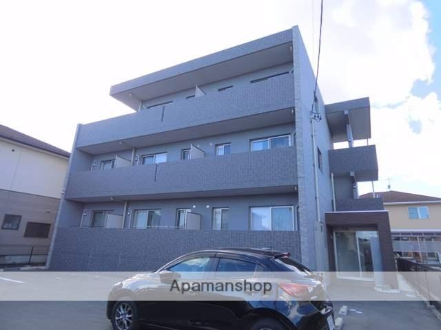 静岡県浜松市浜北区、遠州西ヶ崎駅徒歩18分の新築 3階建の賃貸マンション
