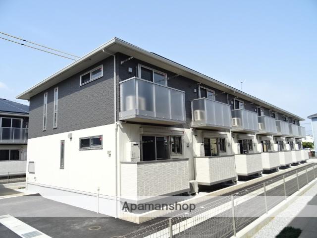 静岡県浜松市北区、浜松駅遠鉄バスバス34分三方原下車後徒歩3分の新築 2階建の賃貸アパート