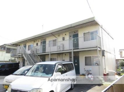 静岡県浜松市南区、浜松駅バス22分四本松北下車後徒歩6分の築35年 2階建の賃貸アパート