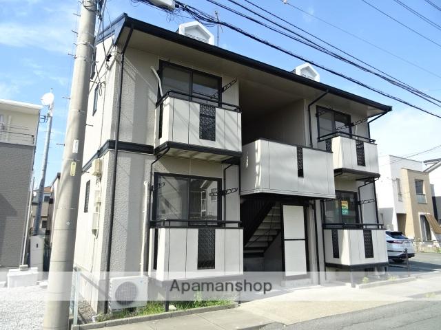 静岡県浜松市西区、浜松駅バス25分篠原東下車後徒歩3分の築22年 2階建の賃貸アパート