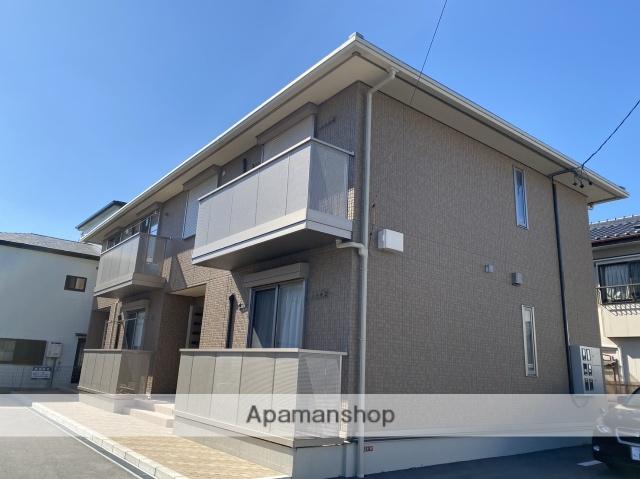 静岡県浜松市中区、浜松駅バス25分萩丘坂上下車後徒歩2分の新築 2階建の賃貸アパート