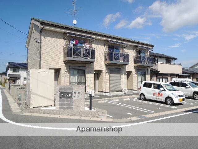 静岡県浜松市浜北区、遠州小松駅徒歩45分の築7年 2階建の賃貸テラスハウス