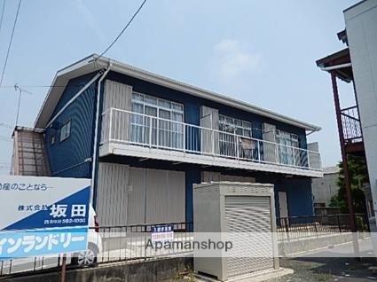 静岡県浜松市西区、浜松駅遠鉄バスバス40分領家下車後徒歩2分の築37年 2階建の賃貸アパート