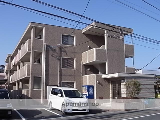 静岡県浜松市中区、浜松駅遠鉄バスバス12分高林下車後徒歩3分の築9年 3階建の賃貸マンション