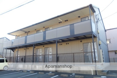 静岡県浜松市中区、浜松駅遠鉄バスバス20分曳馬橋下車後徒歩10分の築16年 2階建の賃貸アパート