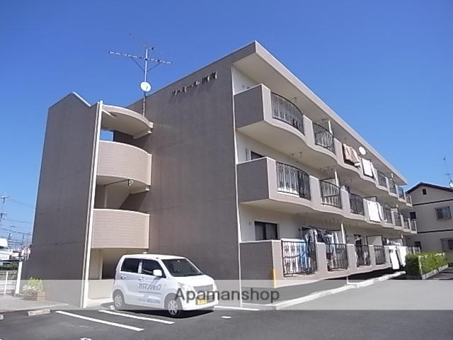静岡県浜松市中区、浜松駅徒歩20分の築20年 3階建の賃貸マンション