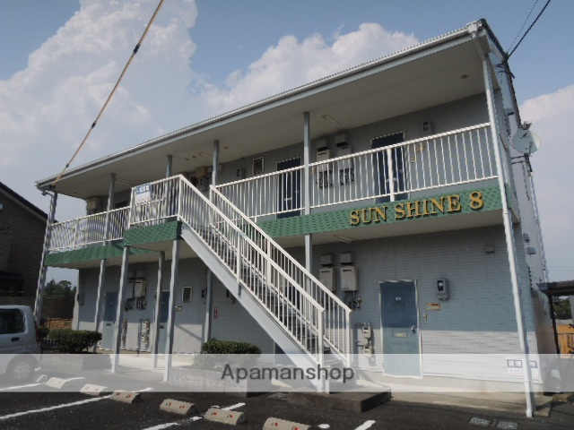 静岡県浜松市北区、金指駅徒歩46分の築25年 2階建の賃貸アパート