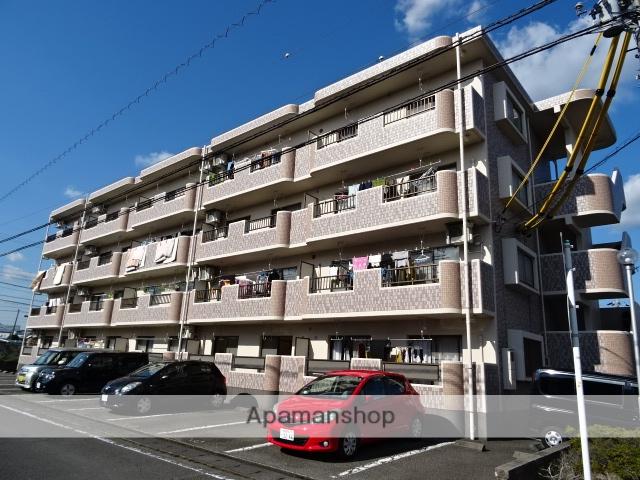 静岡県島田市、六合駅徒歩20分の築20年 4階建の賃貸マンション