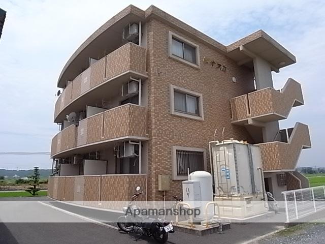静岡県磐田市、磐田駅遠鉄バスバス15分国道西島下車後徒歩9分の築12年 3階建の賃貸マンション