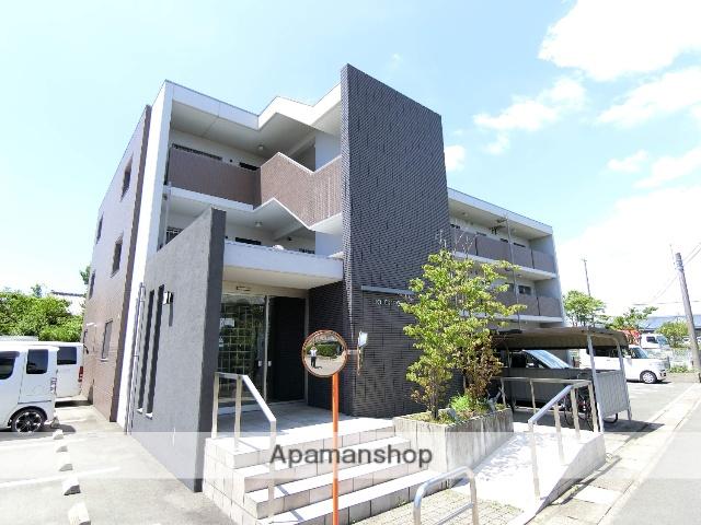 静岡県袋井市、袋井駅徒歩20分の築4年 3階建の賃貸マンション