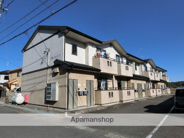 静岡県袋井市、袋井駅遠鉄バスバス30分月見町下車後徒歩8分の築8年 2階建の賃貸アパート