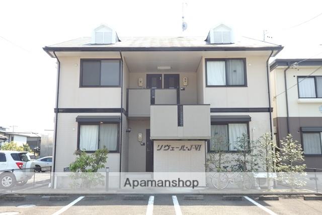 静岡県菊川市、菊川駅徒歩20分の築19年 2階建の賃貸アパート