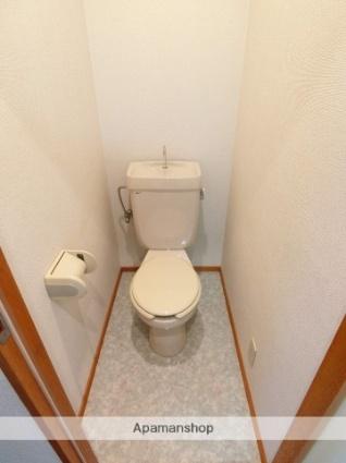 静岡県掛川市緑ケ丘2丁目[1K/20m2]のトイレ