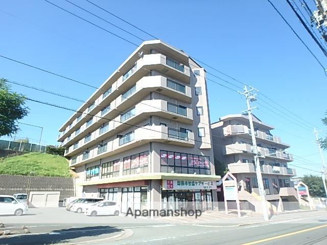 静岡県磐田市、磐田駅徒歩16分の築25年 6階建の賃貸マンション
