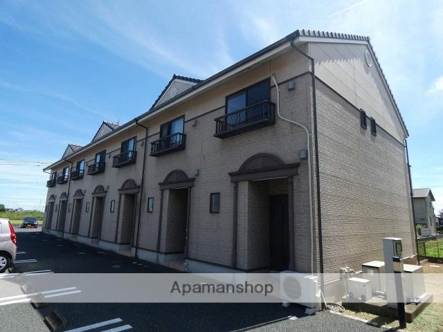 静岡県袋井市、袋井駅遠鉄バスバス30分太郎助下車後徒歩5分の築9年 2階建の賃貸アパート