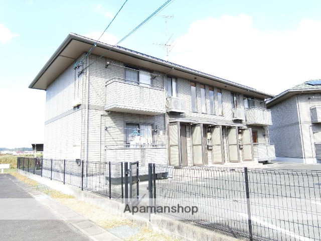 静岡県袋井市、愛野駅徒歩3分の築14年 2階建の賃貸アパート