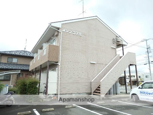 静岡県袋井市、袋井駅徒歩7分の築25年 1階建の賃貸アパート
