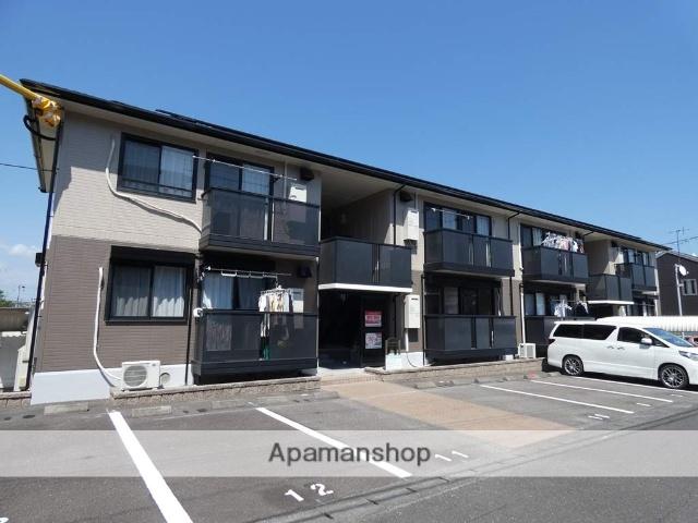 静岡県牧之原市、金谷駅バス40分相良営業所下車後徒歩5分の築17年 2階建の賃貸アパート