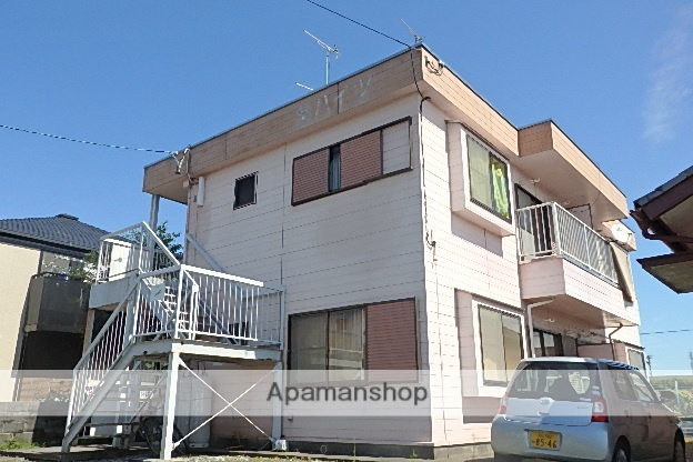 静岡県袋井市、袋井駅徒歩22分の築30年 2階建の賃貸アパート