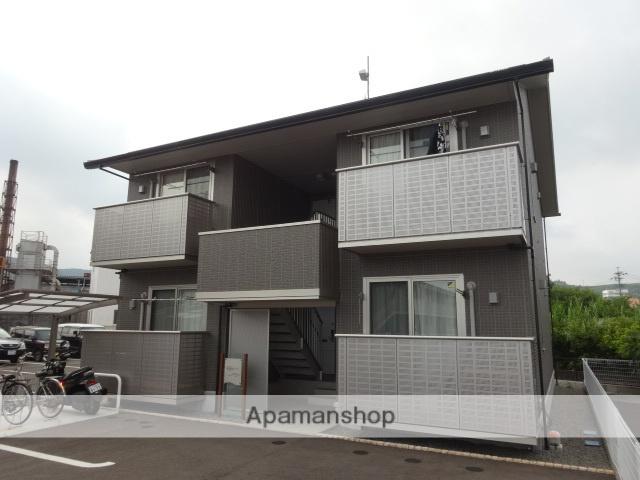 静岡県島田市、六合駅徒歩8分の築3年 2階建の賃貸アパート