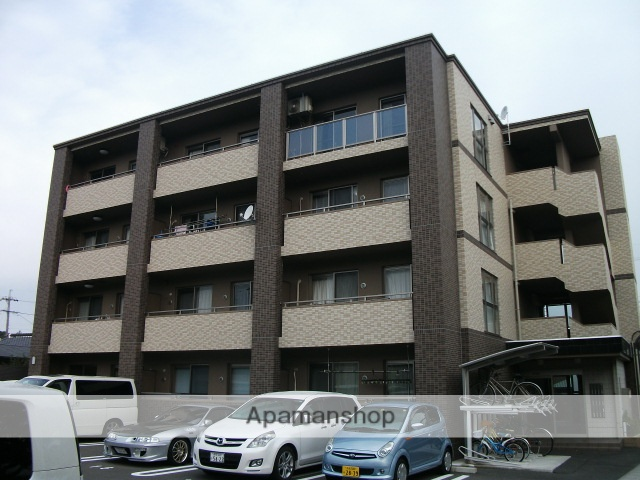 静岡県御前崎市、菊川駅徒歩174分の築8年 4階建の賃貸マンション