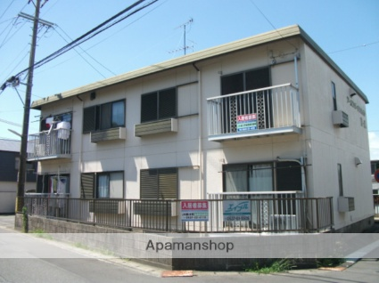 静岡県掛川市、掛川駅徒歩15分の築30年 2階建の賃貸アパート
