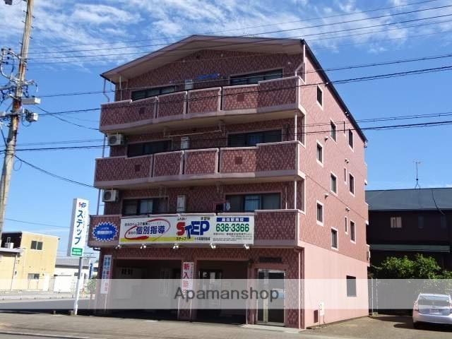 静岡県藤枝市、藤枝駅徒歩8分の築17年 4階建の賃貸マンション