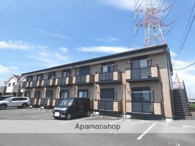 静岡県牧之原市の築11年 2階建の賃貸アパート