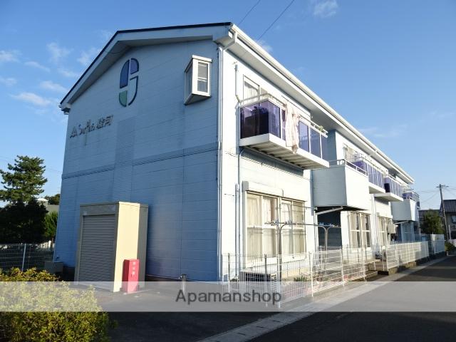 静岡県榛原郡吉田町の築18年 2階建の賃貸アパート