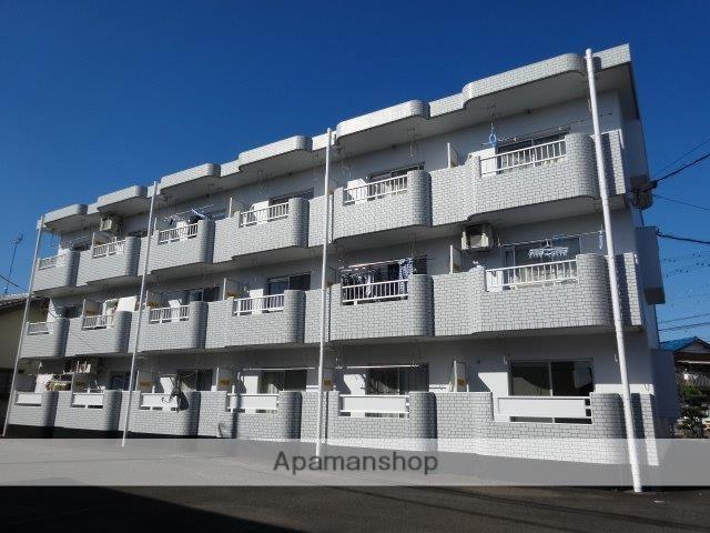 静岡県島田市、六合駅徒歩16分の築24年 3階建の賃貸マンション