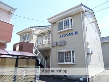 静岡県藤枝市、藤枝駅徒歩21分の築23年 2階建の賃貸アパート