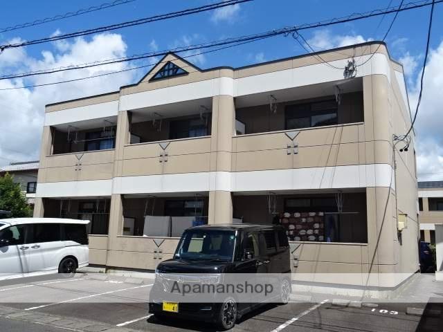 静岡県焼津市、焼津駅静鉄バスバス25分下小田下車後徒歩9分の築13年 2階建の賃貸アパート