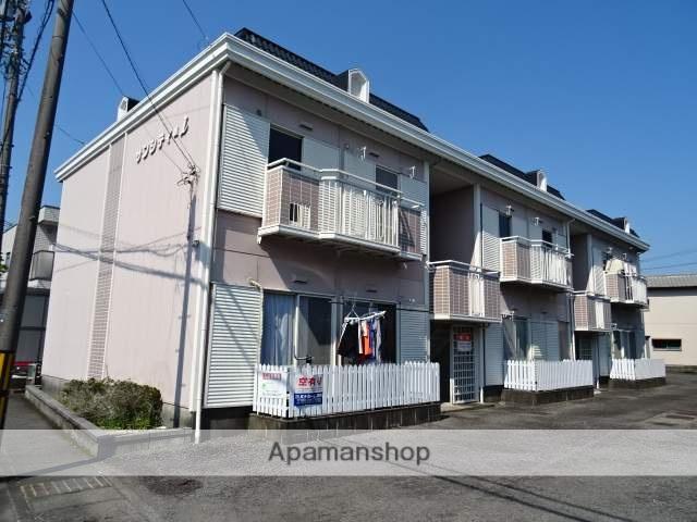 静岡県藤枝市、藤枝駅徒歩15分の築28年 2階建の賃貸アパート