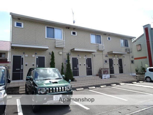 静岡県藤枝市、藤枝駅しずてつシャストラインバス11分桜通り下車後徒歩3分の築5年 2階建の賃貸アパート