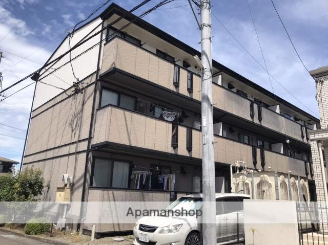 静岡県藤枝市、藤枝駅徒歩8分の築19年 3階建の賃貸アパート