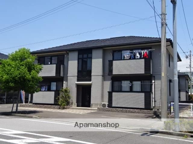 静岡県焼津市、焼津駅しずてつジャストラインバス15分小川中学校前下車後徒歩5分の築16年 2階建の賃貸アパート