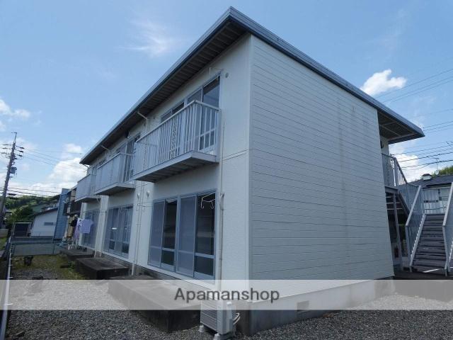 静岡県藤枝市、藤枝駅静鉄ジャストラインバス25分公民館前下車後徒歩2分の築32年 2階建の賃貸アパート