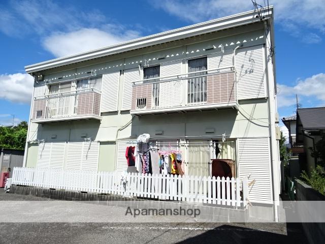 静岡県藤枝市、藤枝駅徒歩17分の築27年 2階建の賃貸アパート