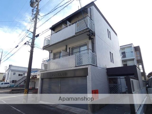 静岡県焼津市、焼津駅徒歩5分の築30年 3階建の賃貸マンション
