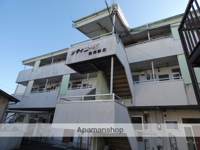 静岡県焼津市、焼津駅徒歩7分の築28年 3階建の賃貸マンション