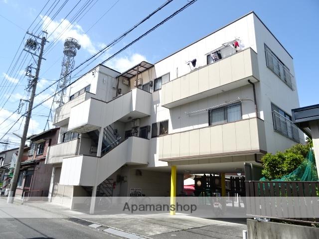 静岡県島田市、島田駅徒歩12分の築27年 3階建の賃貸アパート