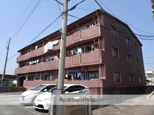 静岡県島田市、島田駅徒歩10分の築19年 3階建の賃貸マンション