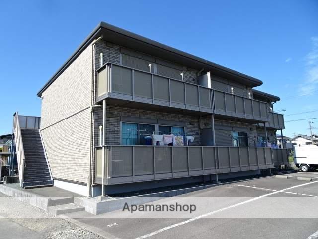 静岡県島田市、代官町駅徒歩11分の築8年 2階建の賃貸アパート