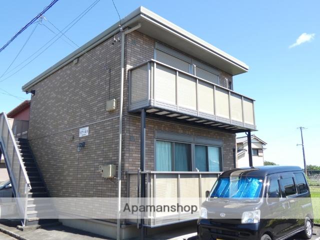 静岡県藤枝市、藤枝駅静岡鉄道バスバス20分与左衛門下車後徒歩3分の築9年 2階建の賃貸アパート