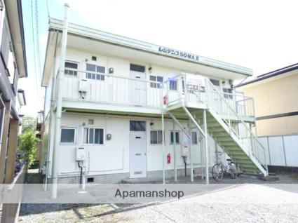 静岡県焼津市、西焼津駅徒歩9分の築43年 2階建の賃貸アパート