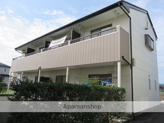 静岡県藤枝市、藤枝駅徒歩16分の築25年 2階建の賃貸アパート